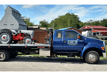 Newport News towing company POP'S TOWING & RECOVERY