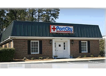 Wilmington urgent care clinic Port City Urgent Care and Family Practice