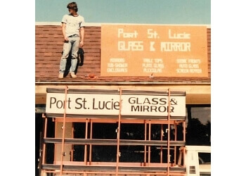 Port St Lucie window company Port St. Lucie Glass & Mirror, Inc.