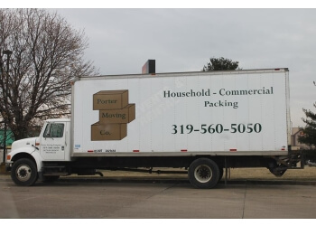 Cedar Rapids moving company Porter Moving Company