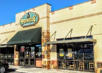 Overland Park sandwich shop Potbelly Sandwich Shop