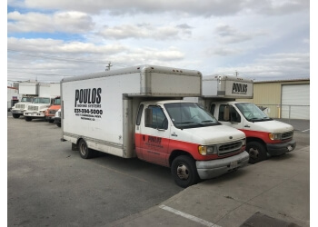 Salinas moving company Poulos Moving Systems
