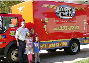 Omaha electrician Power Crew