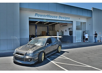 Concord car repair shop PowerHouse Designz