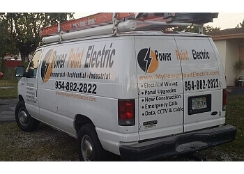 Hollywood electrician Power Point Electric, Inc