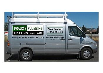 Santa Rosa plumber Prado's Plumbing, Heating and Air