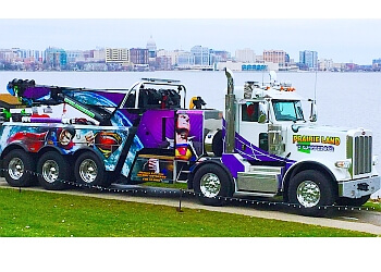 Milwaukee towing company Prairie Land Towing