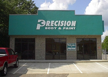 Montgomery auto body shop Precision Body and Paint
