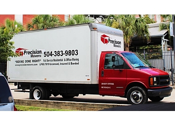 New Orleans moving company Precision Movers LLC.