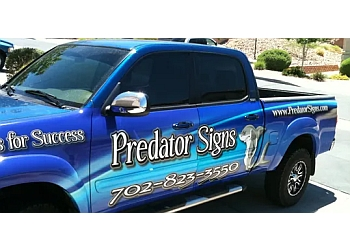 Henderson sign company Predator Signs & Graphics, LLC