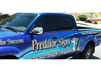 Henderson sign company Predator Signs and Graphics