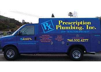 Oceanside plumber Prescription Plumbing Inc.