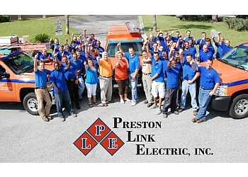 Gainesville electrician Preston Link Electric, Inc.