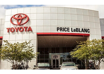Baton Rouge car dealership PRICE LEBLANC TOYOTA