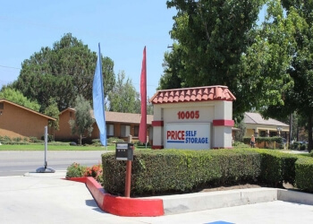 Rancho Cucamonga storage unit Price Self Storage