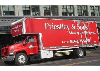 Gresham moving company Priestley and Sons Moving & Storage, Inc.