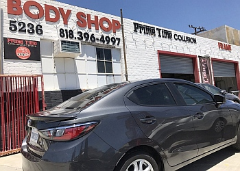 Glendale auto body shop Prime Time collision Center