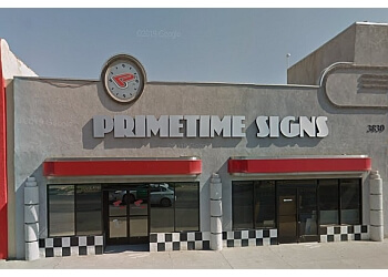 Bakersfield sign company Primetime Signs, Inc.