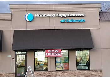 Denver printing service Print and Copy Centers of Colorado