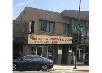 Pasadena window company Pristine Windows