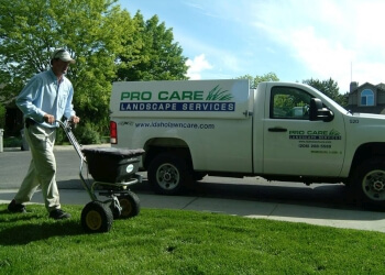 Boise City landscaping company Pro Care Landscape Services