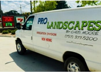 Newport News landscaping company Pro Landscapes by Chris Moore