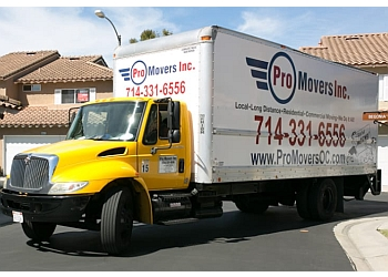 Irvine moving company Pro Movers, Inc.