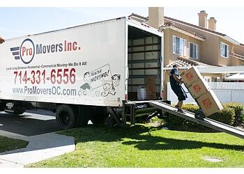 Santa Ana moving company Pro Movers Inc