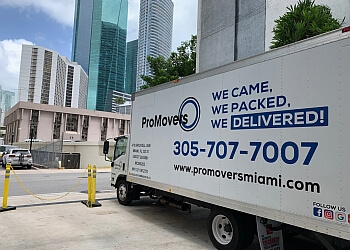 Miami moving company Pro Movers Miami