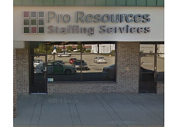 Indianapolis staffing agency Pro Resources Staffing Services