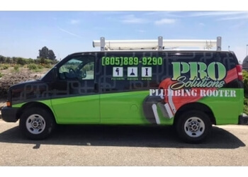 Oxnard plumber Pro Solutions Plumbing and Rooter