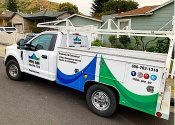San Mateo hvac service Pro air