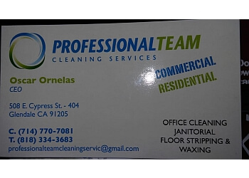 Glendale commercial cleaning service Professional team cleaning services