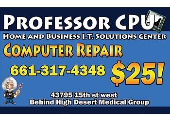 Palmdale computer repair Professor CPU