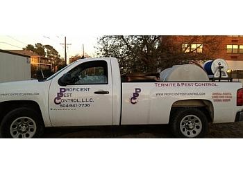 New Orleans pest control company Proficient Pest Control