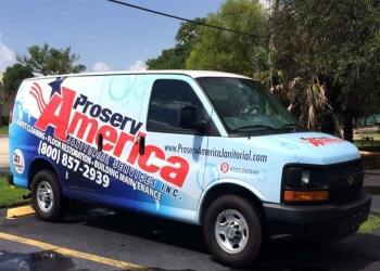Pembroke Pines commercial cleaning service Proserv America Janitorial Services Inc.