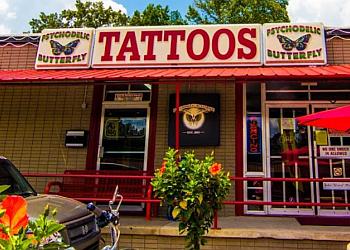 Little Rock tattoo shop PsychoDelic Butterfly