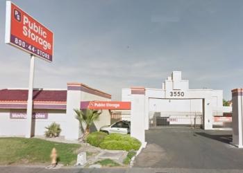 Las Vegas storage unit Public Storage