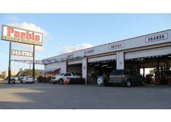 Brownsville car repair shop Pueblo Tires & Service