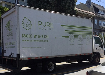 San Francisco moving company Pure moving company