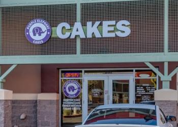 Glendale cake Purple Elephant Cakes