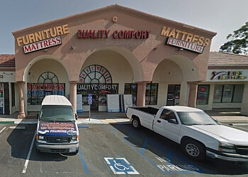 Fullerton furniture store Quality Comfort Mattress