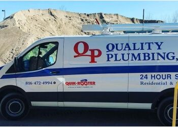 Kansas City plumber Quality Plumbing, Inc.