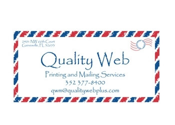 Gainesville printing service Quality Web Printing & Mailing