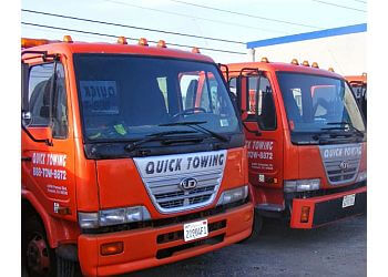 Fremont towing company Quick Towing