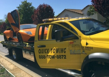 Hayward towing company QUICK TOWING