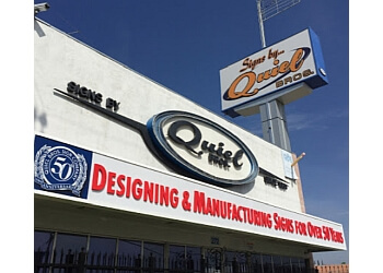 San Bernardino sign company Quiel Signs