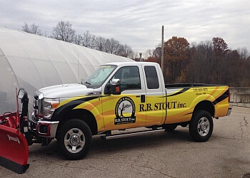 Akron landscaping company R.B. Stout inc.