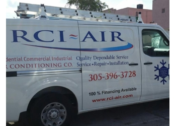 Miami hvac service RCI AIR Conditioning