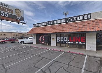 Las Vegas printing service REDLINE PRINT GROUP LLC.